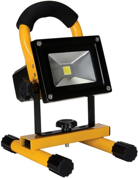 10w Rechargeable Portable Led Work Light Flood Light Daylight White
