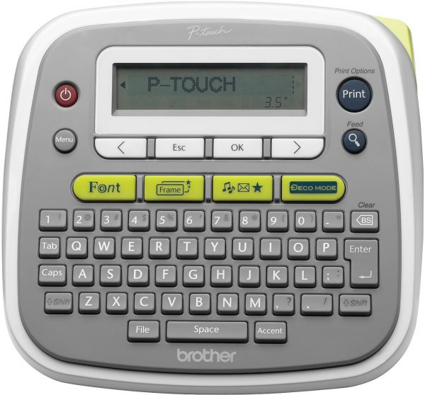 brother p-touch pt-d200ar english & arabic label maker | souq - uae