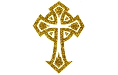 CROSS Tattoo Glitz Gold : Buy Online at Best Price in ...