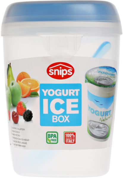 fe70568ceb28 Snips Yogurt Ice Box Container with Spoon [SN-055052]-Assorted Color