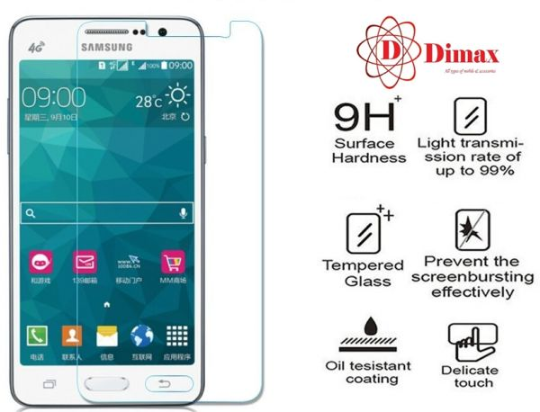 eda970634f3 Tempered Glass Screen Protector anti-shock For Samsung Galaxy Grand Prime SM-  G530 | Souq - Egypt