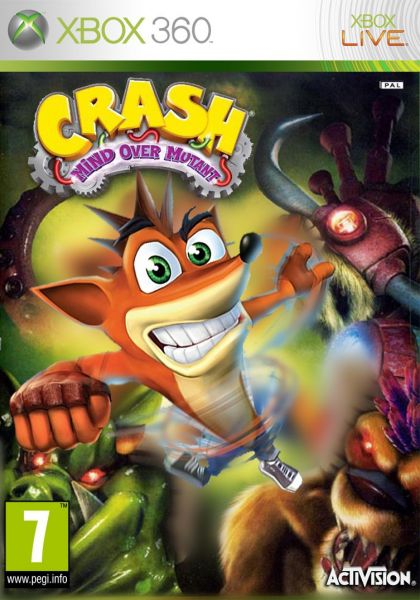 Crash Bandicoot Mind Over Mutant Xbox 360 Souq Uae