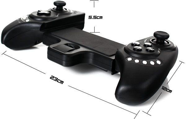 PG-9023 Bluetooth ,Wireless, Telescopic ,Game Controller,Gamepad for iPod  for ipad for Android Phone