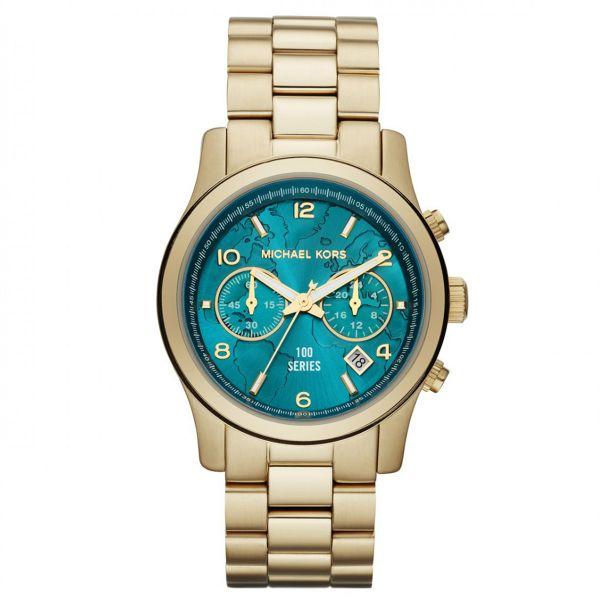 154c65b3c01c Michael Kors Hunger Stop 100 Watch for Women - Analog Stainless Steel Band  - MK5815