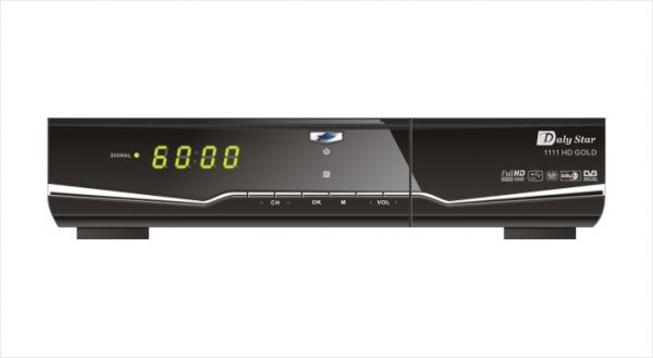 Daly Star 1111 HD Satellite Receiver - Gold Plus