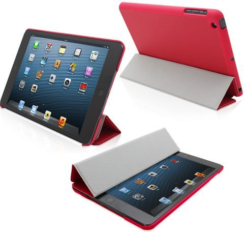 Magnetic Smart Case With Back Plastic Matte Cover For Ipad Mini