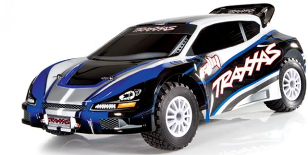 rc cars traxxas rally 1/10 scale brushless