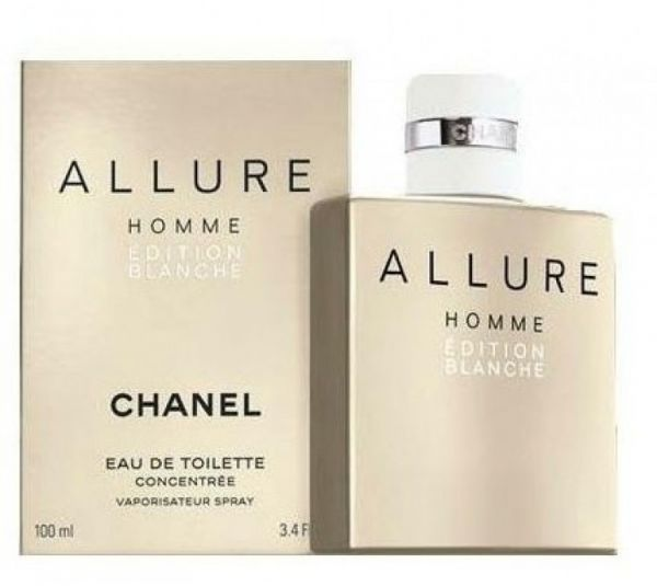 46825733701 Chanel Allure Homme Edition Blanche Men EDT Concentree 100 ml