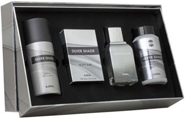 799.00 AED & Ajmal Silver Shade Gift Set for Men | Souq - UAE