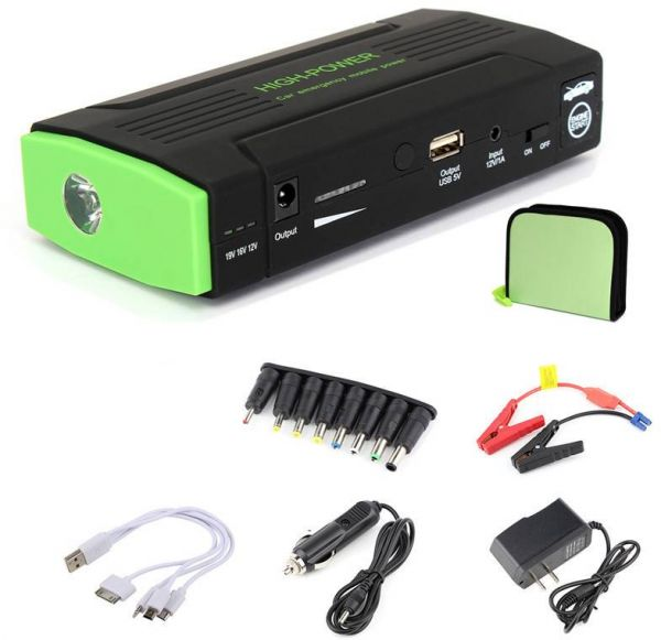 65000mah car mobile multi function jump starter charger. Black Bedroom Furniture Sets. Home Design Ideas