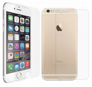iPhone 6 Front and back 2 in 1 Professional Screen Guard Clear Protector Transperent Protection