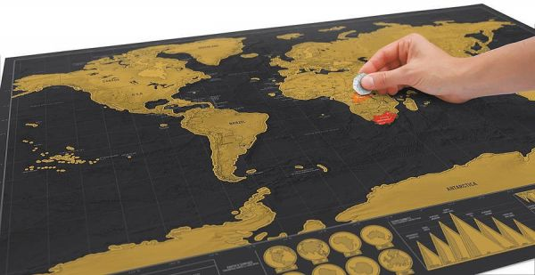 Deluxe World Scratch Map Souq Uae