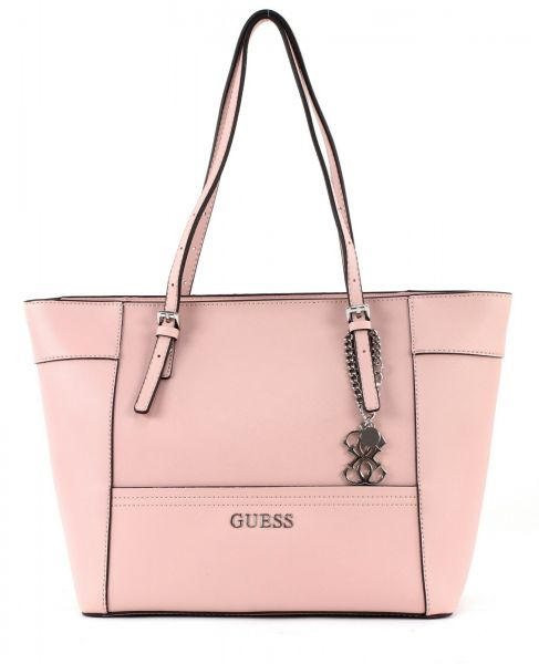 b82ce3cf07f3 Guess Women s Delaney small classic Tote Bag- coral ey453522