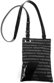 745495e297fa Emporio Armani YEW024 YC375 88137 Crossbody Bag for Women - Black ...