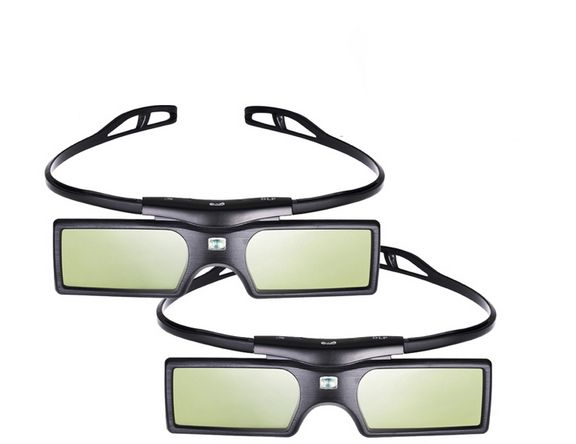 G15-DLP 3D Active Shutter Glasses for DLP-LINK DLP LINK 3D for Optoma Sharp LG Acer BenQ Projectors