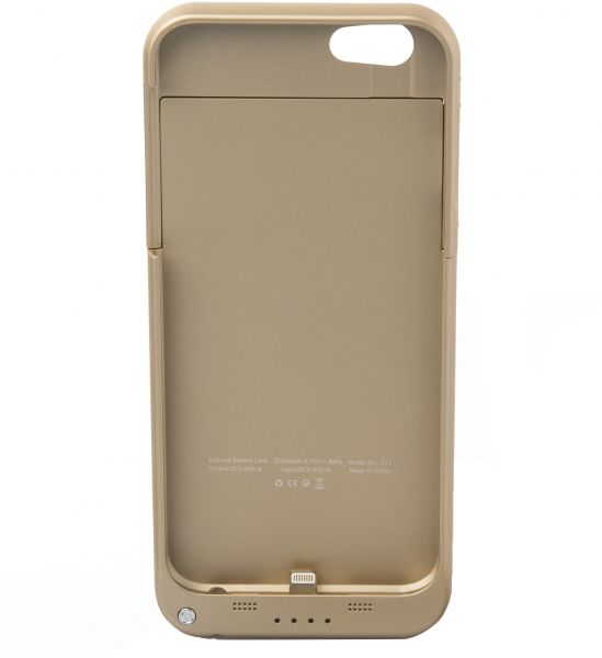 Power Bank 3,200 mAh built-in case for iPhone 6 plus X-live X11 - Gold