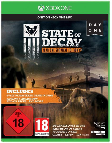 State Of Decay Year One Survival Edition by Microsoft - Xbox One