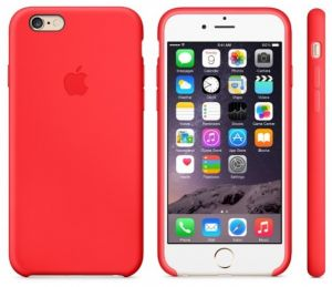 IPhone 6 Plus Cover Apple Silicone Red MGRG2ZM A