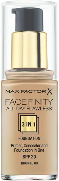 Max Factor FaceFinity All Day Flawless 3 In 1 Foundation , Bronze ...