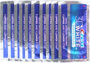 Crest 3D White Professional Whitening Effects Whitestrips 20 strips/10...