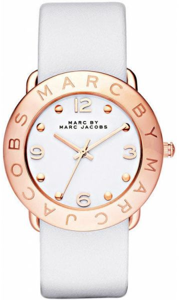717e4042fb53a ... Amy Women's White Dial Leather Band Watch - MBM1180. by Marc by Marc  Jacobs, Watches - 10 reviews