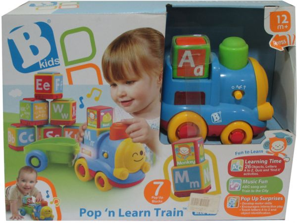 Bkids Pop N Learn Train Baby Products
