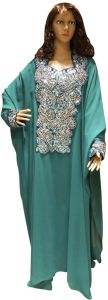 Green Party Abaya For Women