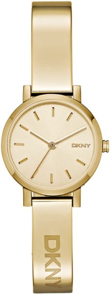 b8d017d5bd89d DKNY Soho Women s Champagne Dial Stainless Steel Band Watch - NY2307