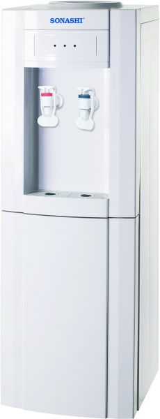 SONASHI WATER DISPENSER HOT U0026 COLD WITH STORAGE CABINET   SWD 37