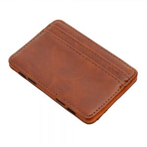 01925fdc73 Men leather brown wallet (small and practical)