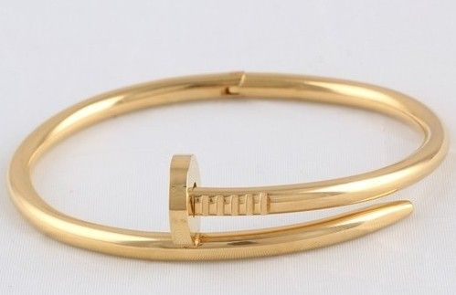 30e6bdd893c elegant and lovely cartier style gold bangle
