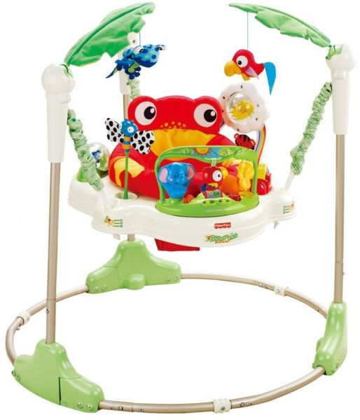 da66b7327 Fisher Price K7198 Rainforest Jumperoo Baby Bouncer