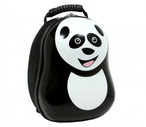 235bd5161aa4 The Cuties and Pals KIM-PAN12 Cheri the Panda 13 Inch Backpack for Kids -  Black   White