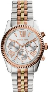 1f318bf188bed Michael Kors Lexington Women s Silver Dial Stainless Steel Band Watch -  MK5735