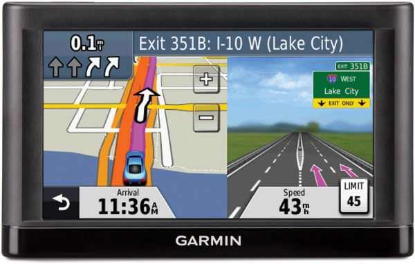 Garmin Nuvi 52LM 5Inch Lane Assist GPS Navigator With MiddleEast