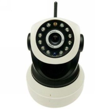 HD Wireless ip cctv camera, clear Night Vision LED, 2-Way Audio.