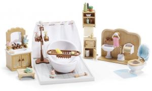 Calico Critters Bedroom | Calico Critters Deluxe Bedroom Set