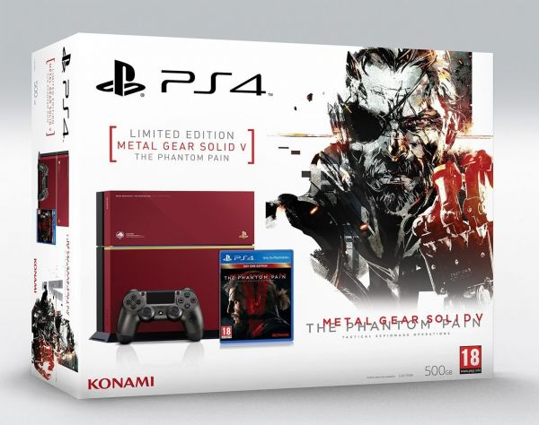 Sony Playstation 4 - Metal Gear Solid: The Phantom Pain Limited Edition Bundle
