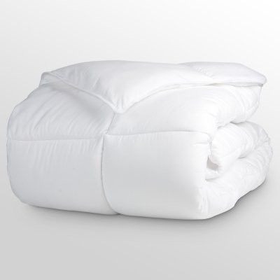Luxury White King Size, 220 x 240 cm 144 Thread Count Breathable ... : microfiber quilt - Adamdwight.com