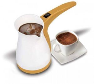The turkish coffee maker
