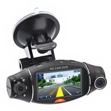 FULL HD VEHICLE BLACKBOX DVR  DUAL CAMERA