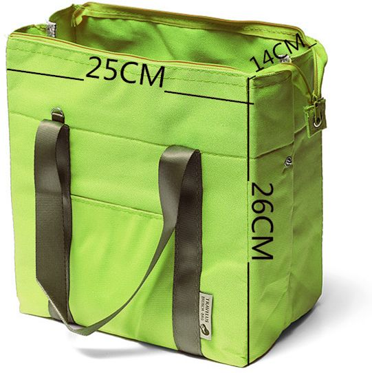 Green Insulated Thermal Lunch Bag | السعودية | سوق