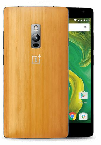official photos 5fff9 9340e OnePlus Two StyleSwap Cover - Bamboo