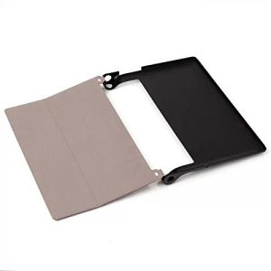 Leather Cover Black for Yoga Tablet 2 10 inch - 1050L