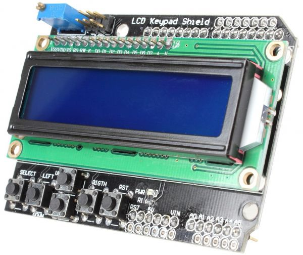 LCD Keypad Shield LCD1602 Module Display Board for Arduino