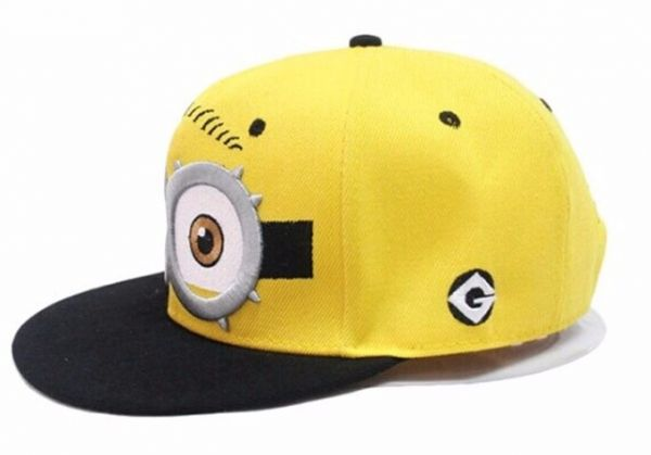 382a473766a Childs cap kids hat Hip-hop Baseball Caps childs Despicable Me Minions Cap  Snapback Hats