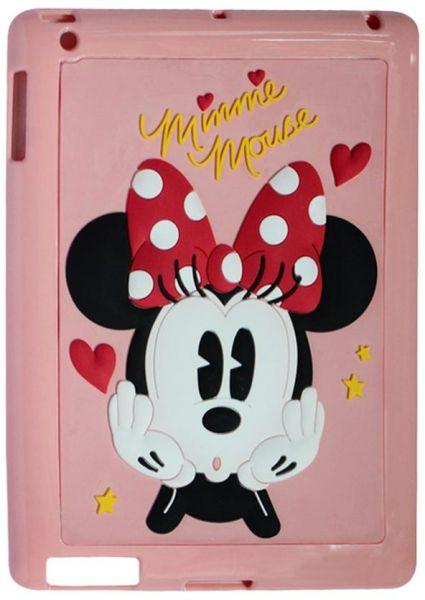 66a0aa962 سعر Mickey Mouse Print Back Cover for Apple iPad Mini - Pink فى مصر ...