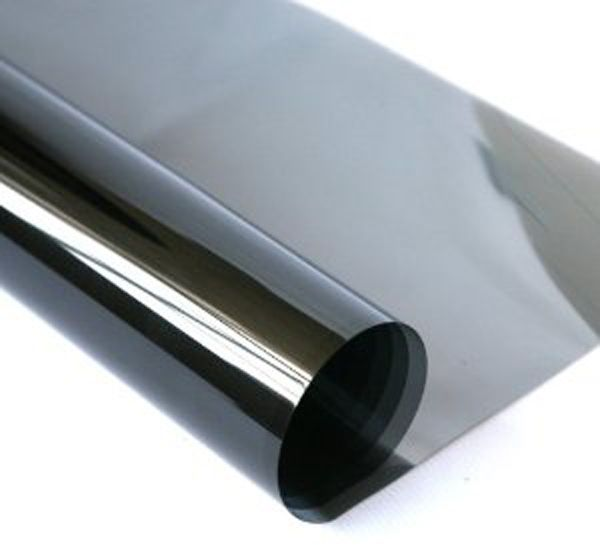 Solar Window Film >> Solar Window Film Super Dark Black