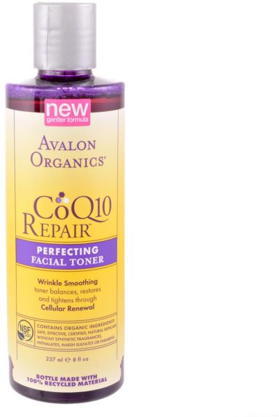 Coq10 facial toner are