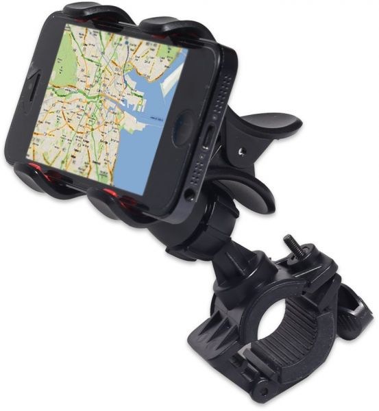 GreatShield Clip-Grip Handlebar Bike Mount Holder for Mobiles
